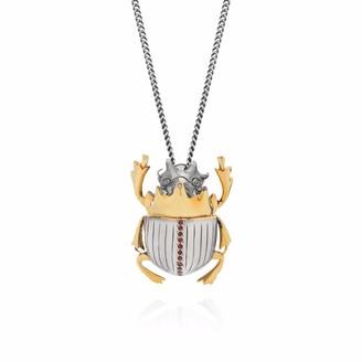 Yasmin Everley Jewellery Gilded Scarab Necklace