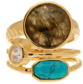 Melinda Maria Courtney Labradorite Ring - Size 7