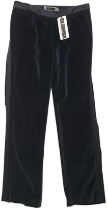 Vilshenko Black Velvet Trousers