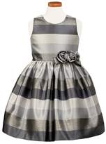 Sorbet Girl's Metallic Stripe Dress