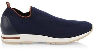 Loro Piana Flexy Walk Active Cashmere Knit Sneakers
