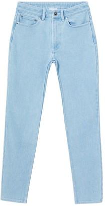 Burberry Skinny Fit Bleached Denim Jeans