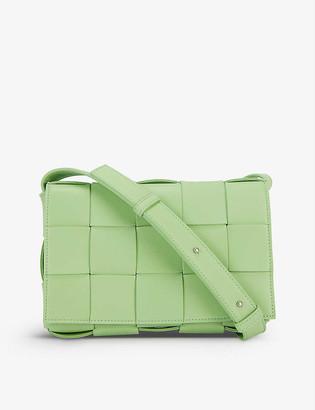 Bottega Veneta Cassette intrecciato leather cross-body bag
