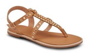 OLIVIA MILLER Passion Fruit Studded Sandals Women's Shoes