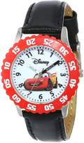 Disney Kids' W000089 Cars Stainless Steel Time Teacher Watch