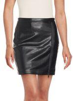 Romeo & Juliet Couture Zippered Mini Skirt