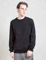 10.Deep Black Skydome Crewneck Sweater