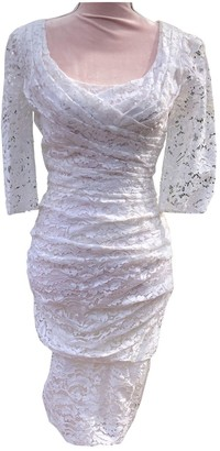 Dolce & Gabbana White Lace Dress for Women Vintage