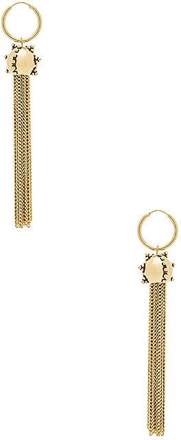 Luv Aj The Baroque Tassel Earrings