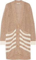See by Chloe Open-knit cotton-bouclé cardigan