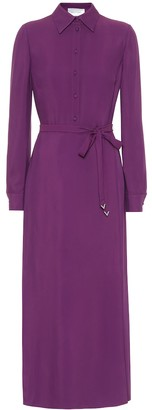 Valentino Belted shirt dress
