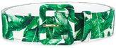 Dolce & Gabbana banana leaf print belt