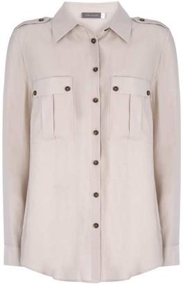 Mint Velvet Stone Utility Shirt