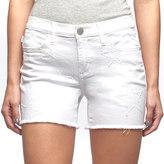 Rock & Republic Women's Hula White Star Shorts