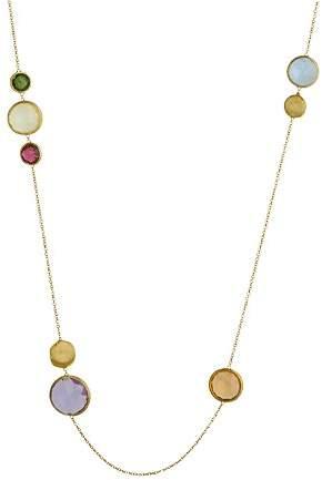 "Marco Bicego 18K Yellow Gold Jaipur Gemstone Necklace, 36"""