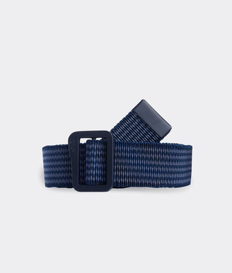 Vineyard Vines Striped Stretch On the Go Belt