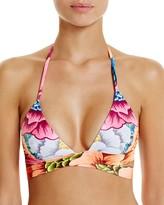 Mara Hoffman Flora Wrap-Around Bikini Top