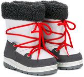 Armani Junior snow boots - kids - Neoprene/Polyamide/rubber - 22