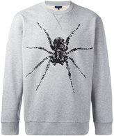 Lanvin beaded spider sweatshirt - men - Cotton/Spandex/Elastane/glass - M