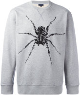 Lanvin beaded spider sweatshirt