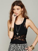 Free People Criss Cross Crop Cami