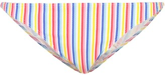 Onia Ashley striped bikini bottoms