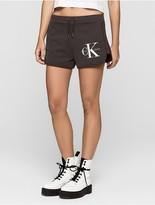 Calvin Klein Jeans Cotton French Terry Logo Sweatshorts