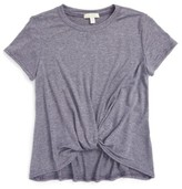 Girl's Love On Tap Knotted Tee