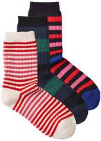 Sonia Rykiel 3 Pack of Virgin Wool Socks