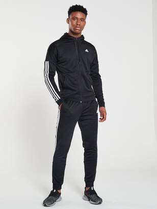 adidas Game Time Hooded Tracksuit
