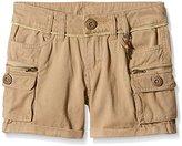 Kaporal Girl's Plain Swim Shorts - Beige -