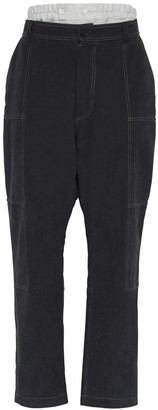 Jacquemus Cotton Cargo Pants W/ Briefs