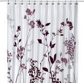 Bed Bath & Beyond Reflections Purple Fabric Shower Curtain