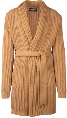 Dolce & Gabbana Belted Long Cardigan