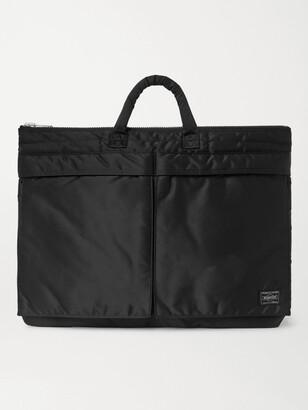 Porter-Yoshida & Co Tanker Shell Briefcase - Men - Black