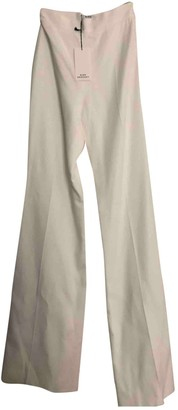 Rime Arodaky White Trousers for Women
