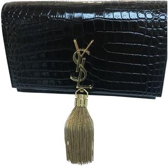 Saint Laurent Belle de Jour Black Exotic leathers Clutch bags