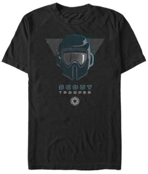 Star Wars Men's Jedi Fallen Order Scout Helmet T-shirt