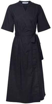Skin and Threads Cotton Wrap Dress