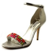 Dune London Helenat Women Open Toe Leather Multi Color Sandals.