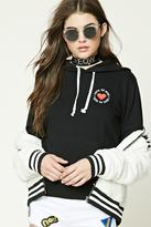Forever 21 FOREVER 21+ Love To Give Fleece Hoodie