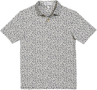 Peter Millar Boy's Bird Airplanes Print Polo Shirt, Size XXS-XL