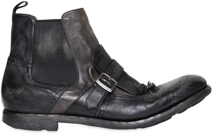 Church's Shanghai 6 Glace Vintage Leather Boots