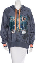 Preen Graphic Hooded Sweatshirt