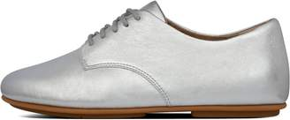 FitFlop Adeola Metallic Leather Lace-Up Derbies
