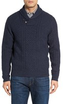 Nordstrom Men's Cable Knit Shawl Collar Sweater