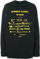 Raf Simons Summer Games sweatshirt