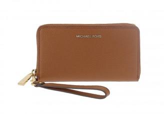 Michael Kors large leather pochette