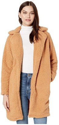 Billabong Montreal Longline Fleece Jacket (Carmel) Women's Clothing