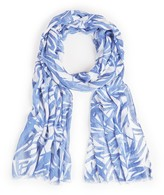 Sole Society Elongated Palm Print Scarf
